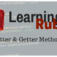 Learning Ruby: Setter and Getter Methods