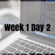 Week 1 Day 2 – References and Scope
