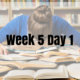 Week 5 Day 1 – Assessment Prep