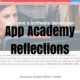 App Academy Reflections