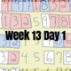 Week 13 Day 1 – In-Place Quicksort