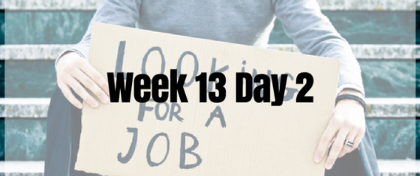 Week 13 Day 2 – Job Search System